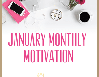 January Monthly Motivation