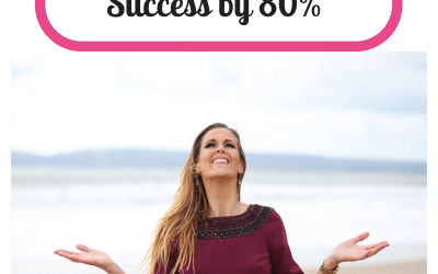 How to increase your success by 80%